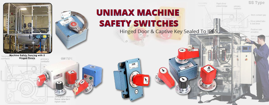 Unimax Machine Safety Switches